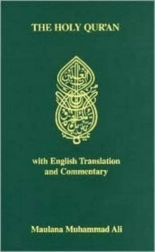 "The Holy Qur'an with English Translation - The Holy Qur'an with English Translation and Commentary (English and Arabic Edition) by Maulana Muhammad Ali [caption id="""" align=""alignleft"" width=""...  #Islam #MaulanaMuhammadAli"