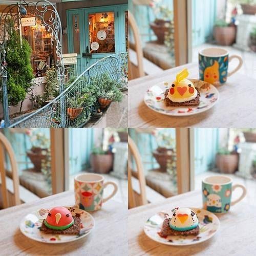 かわいい3種類のインコケーキ、「ことりカフェ表参道」メニューに登場。 | Narinari.com