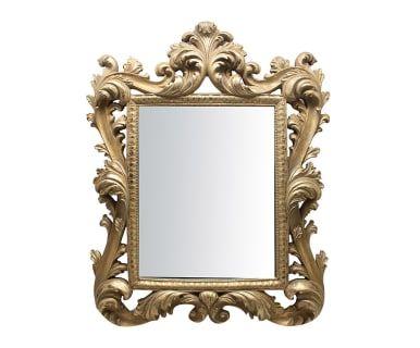 """Nástěnné zrcadlo """"Mavis Gold"""", 35 x 3 x 43 cm"""