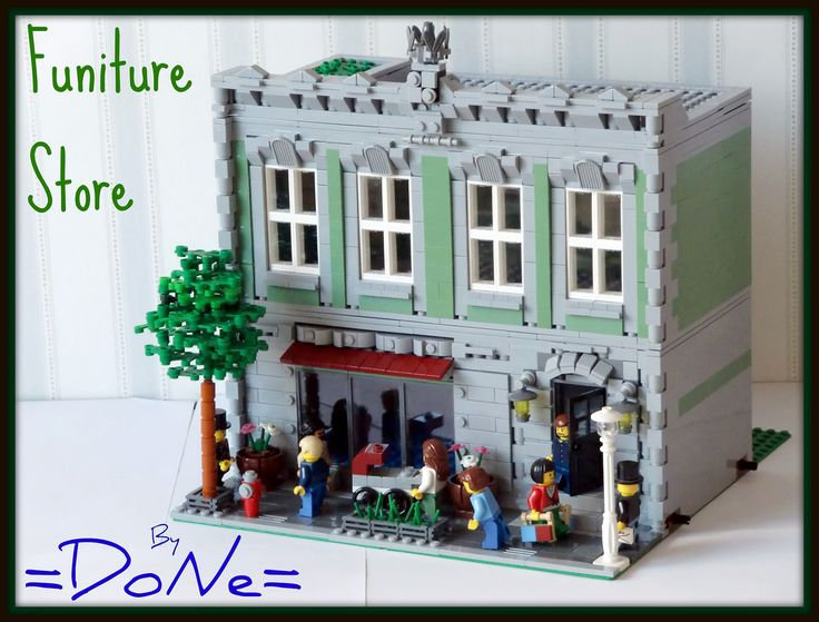 Lego Funiture Store 01 | Here i am with the first custom CC-… | Flickr