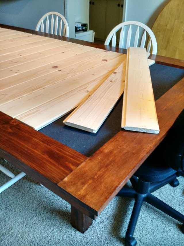 Building A Dining Room Gaming Table Imgur Woodworking