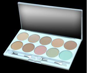 ELIXIR Κασετίνα Concealer Και Camouflage 10 Χρώματα 16HRS No 840 Κασετίνα μακιγιάζ με 7 αποχρώσεις concealer και 3 αποχρώσεις camouflage. Ιδανική για σπουδαστές σχολών μακιγιάζ. Τιμή €15.00