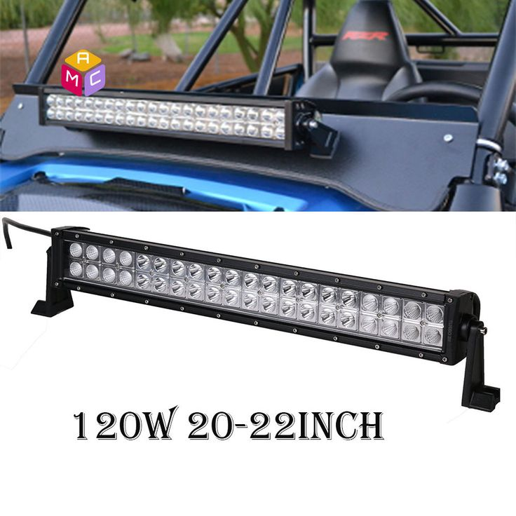 """120W 20"""" Led Work Light Bar ATV UTV Polaris RZR RZR4 XP1000 XP900 Dune Buggy Car #MAC"""