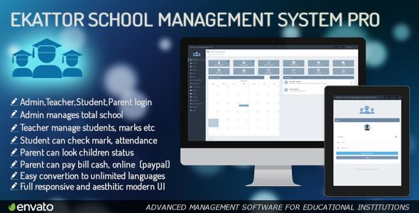 Ekattor School Management System Pro (Project Management Tools)