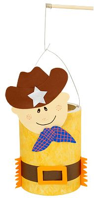 lampion cowboy