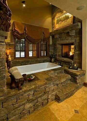 Redneck luxury bath
