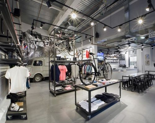 Rapha Cycle Bike Shop London  (Click for additional pics)