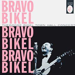 Alternate sleeve:Bravo Bikel! - Theodore Bikel Town Hall Concert