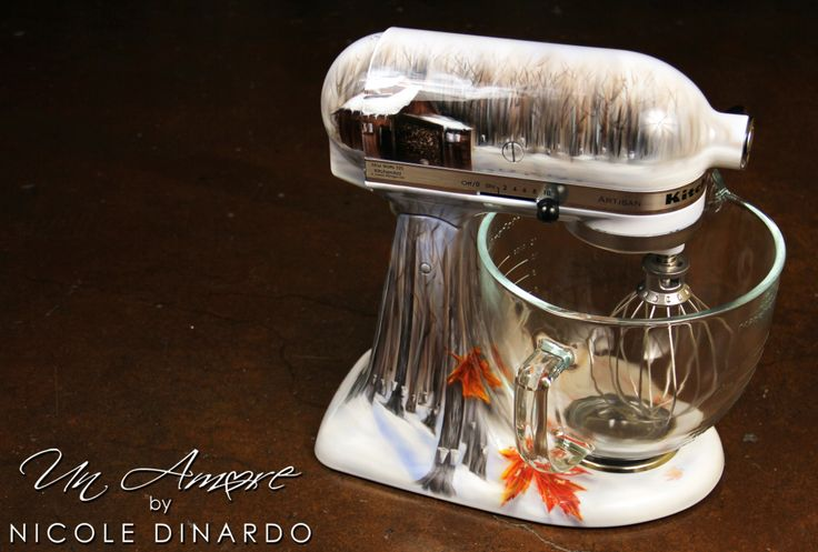 17 best images about my artwork on pinterest kitchen aid mixer so fresh and hand painted - Decorated kitchenaid mixer ...