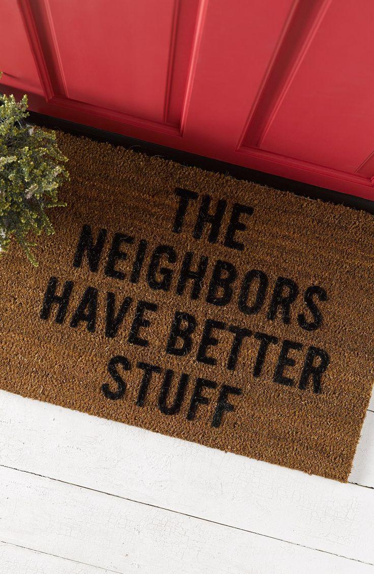 Doormat keep the change you filthy animal doormat photographs : Best 25+ Doormats ideas on Pinterest | Funny doormats, Doormat and ...
