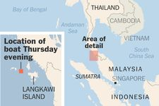 """Migrants From Myanmar, Shunned by Malaysia, Are Spotted Adrift in Andaman Sea: The Indonesian Navy turned away a boat with thousands of passengers, urging it on to Malaysia, while the Malaysian authorities turned away two boats with a total of at least 800 passengers. """"What we have now is a game of maritime Ping-Pong,"""" said the International Organization for Migration. """"What's the endgame? If these people aren't brought to shore soon, we are going to have a boat full of corpses."""""""