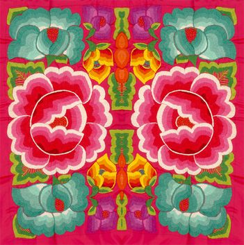 mexican textile, mexican embroidery