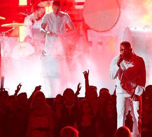 Kendrick Lamar and Imagine Dragons Give A Rockin' Performance of 'Radioactive' at Grammys 2014! WATCH