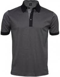 Hugo Boss Polo Shirt - fitted to perfection and amazing quality. Looks sleek and sophisticated - my ideal casual look.