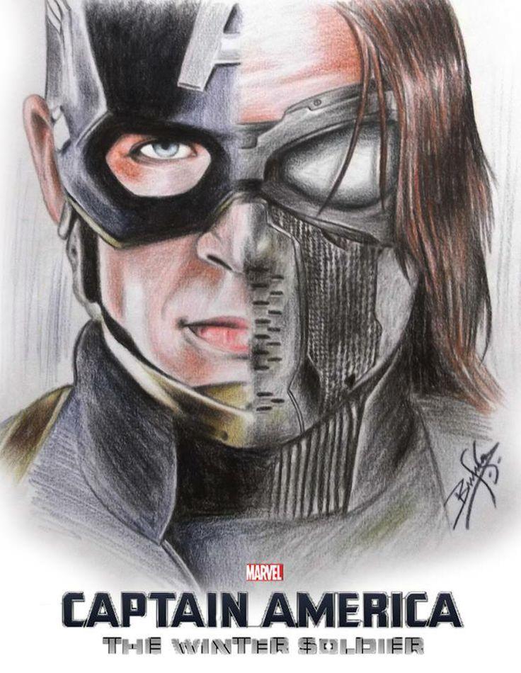 Captain America The Winter Soldier Heroes Villans
