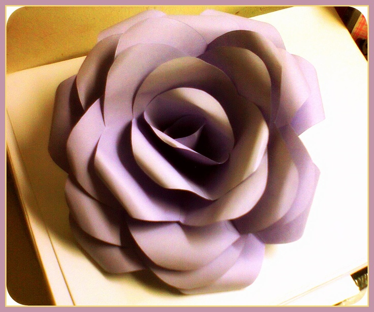 Rose, made of paper. :)