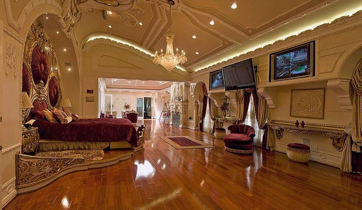 Home Interior Decor Idea Bedroom Lavish Luxurious
