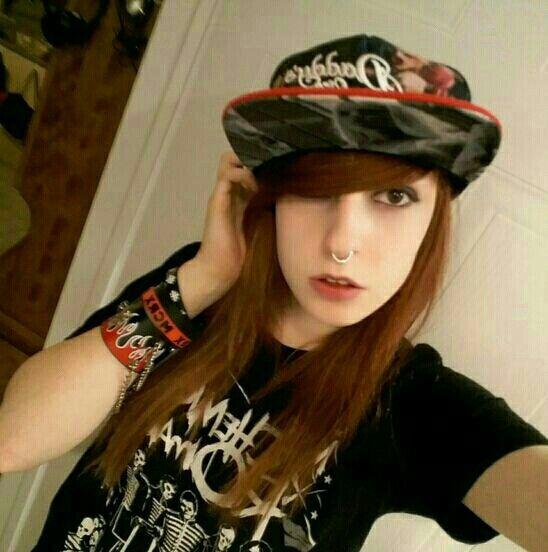 Alternative Punk Rock Scene kid Hair Viro Psycho