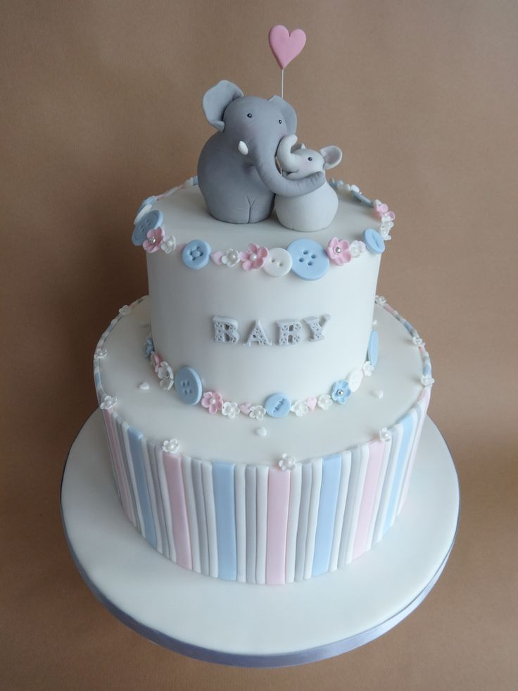 elephant baby shower cake flickr ideas cake shower cakes and babies 3871