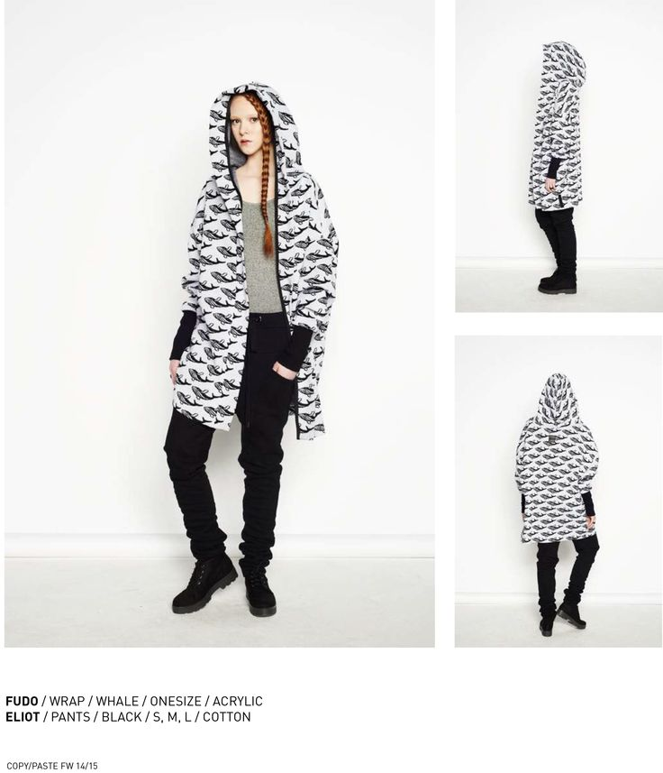 nenukko.com #whale #patterned #hooded #wrap
