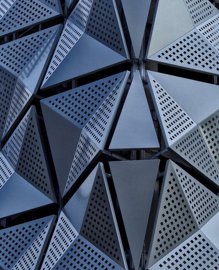 "gashetka: "" 2015 | University of Leeds, MSCP (Multi Storey Car Park) | Design by CJCT | Photo by Phil Openshaw | Source """
