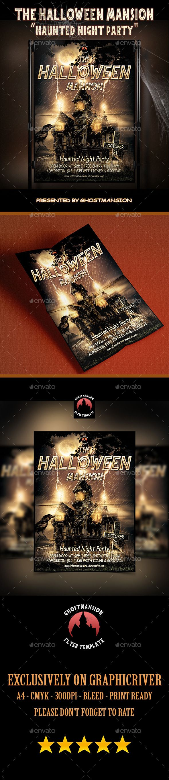 48 best Flyer Template, Book Cover Template, Movie Poster Template ...