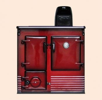 Reconditioned Rayburn No1 Claret Shaded Enamel