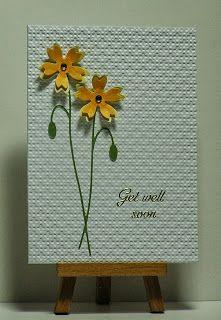 Cathys Card Spot: Get well flowers