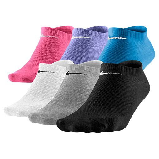 Women's Nike Lightweight No Show Socks 6-Pack - SX4129 964 | Finish Line