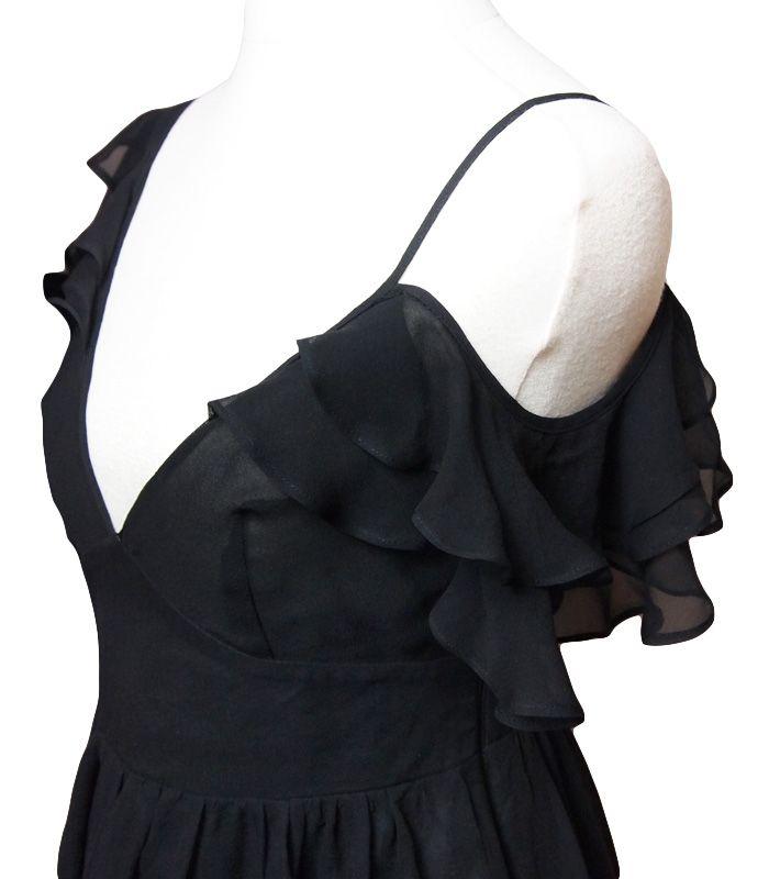 Lipsy London Black Beauty silk dress