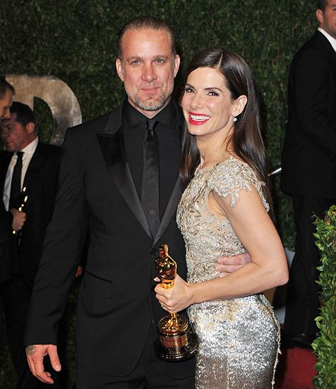 Sandra Bullock and Jesse James   Sandra Bullock pulled a wild card when she married famed motorcycle builder Jesse James in 2005. The couple attended public events together for years, including the 2010 Oscars when Bullock took home the Best Actress award for her role in The Blind Side. Shortly after, news of James' infidelity came out and the couple divorced, leaving Bullock to raise her adopted son Louis as a single parent.