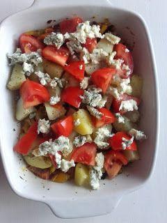 Sielskie Marzenia Sielskie Miejsce: Zapiekanka z (między innymi) dynią makaronową, ziemniakami i na ostro :)
