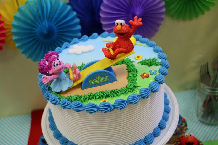 Elmo abby teeter totter cake kit super cute decoration