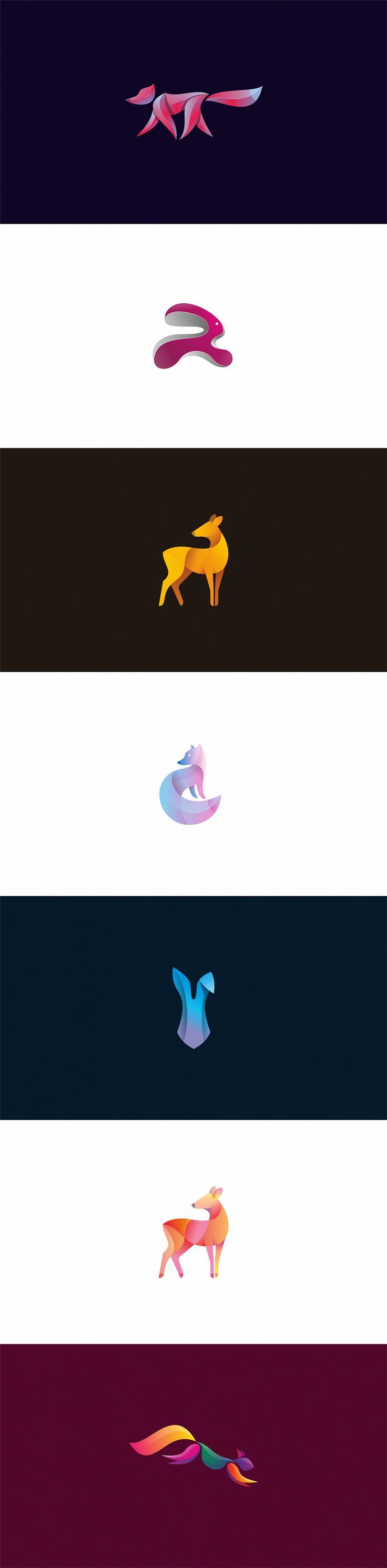 animal logos #2, Логотип © ЮрийКартшашев