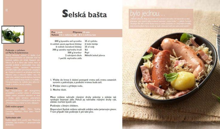Selská bašta recept, Tefal Mijotcook SD5000