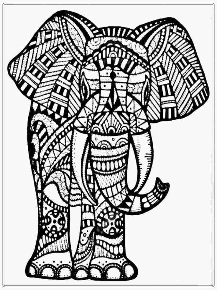 Giant Coloring Pages For Adults Elephant Coloring Page Skull Coloring Pages Mandala Coloring Pages