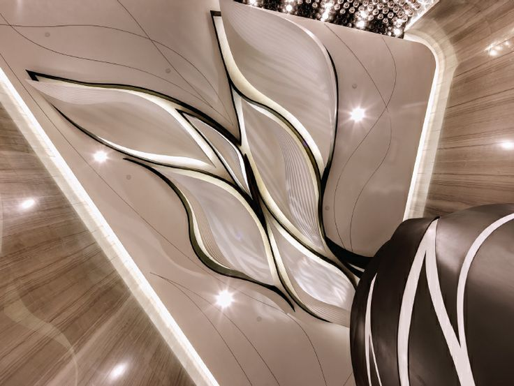Wavy Ceiling Design- AgcDesign! Hk Cinema.....Cool Ceiling design!