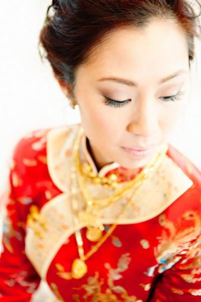 Red and gold #wedding garb.