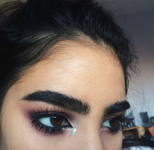 I'm a sucker for eyebrows like these