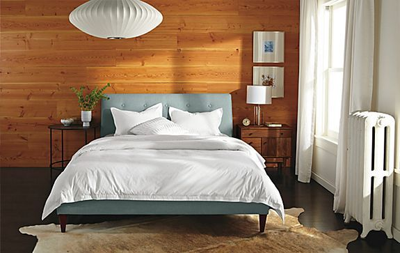 hoffman bed with nelson pendant bedroom room board home decor pinterest pendants beds and bedrooms