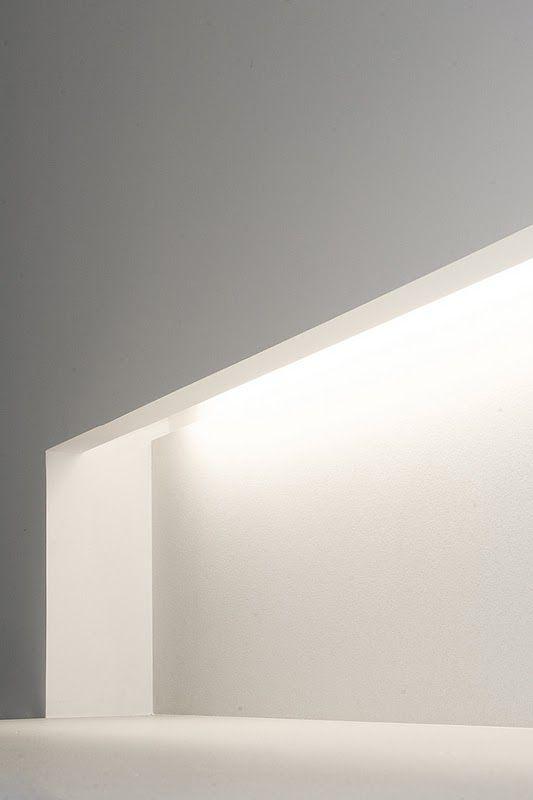 Lighting detail, Vivienda Barcelona by architect Enrica Mosciaro from Spanish studio Fusina 6 _