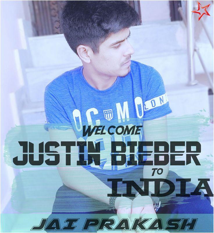 Jai Prakash Welcomes Justin Bieber to India Jai Prakash Singer - Official Facebook Page  India's Justin Bieber Jai Prakash New Images and wallpapers by JaiPrakashpage And JaiPrakashMusic