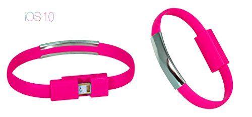 PhoneStar Armband Ladekabel USB Datenkabel 8-pin zu USB in schwarz für iPhone 7, 7 Plus, SE, 6s, 6s Plus, 6, 6 Plus, 5s, 5c, 5, iPad Pro, Air 1-2, Mini, iPod in pink https://www.amazon.de/dp/B01DCAZ7F2/ref=cm_sw_r_pi_dp_x_DSjhyb2KTJ8RV #PhoneStar #Armband #Ladekabel #USB #Datenkabel #8-pin