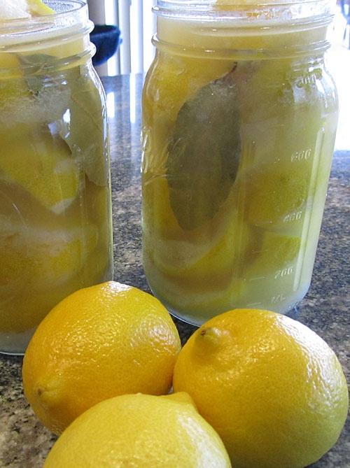Preserved lemons - easy to make