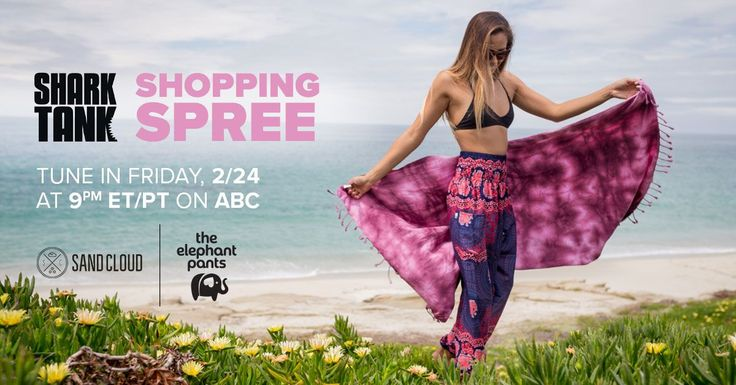 "Shark Tank Shopping Spree <p>Win up to a $200 shopping spree at The Elephant Pants and Sandcloud.</p><p><span style=""font-family: inherit"