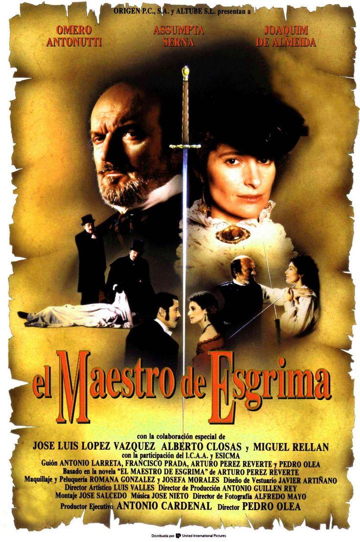 El Maestro de esgrima (DVD ESP OLE), basada en la novel·la homònima d'Arturo Pérez-Reverte.
