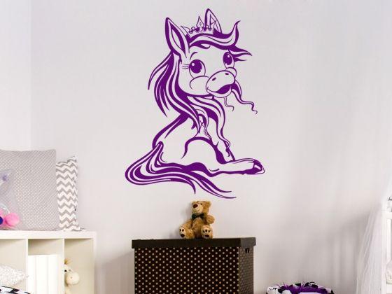 Good Sitzendes Pony f rs Kinderzimmer