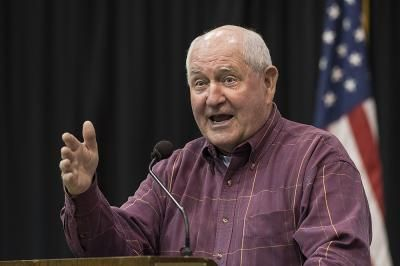 U.S. Agriculture Secretary Sonny Perdue on Friday said President Trump may be open to creating a way for some undocumented immigrant workers to stay in the