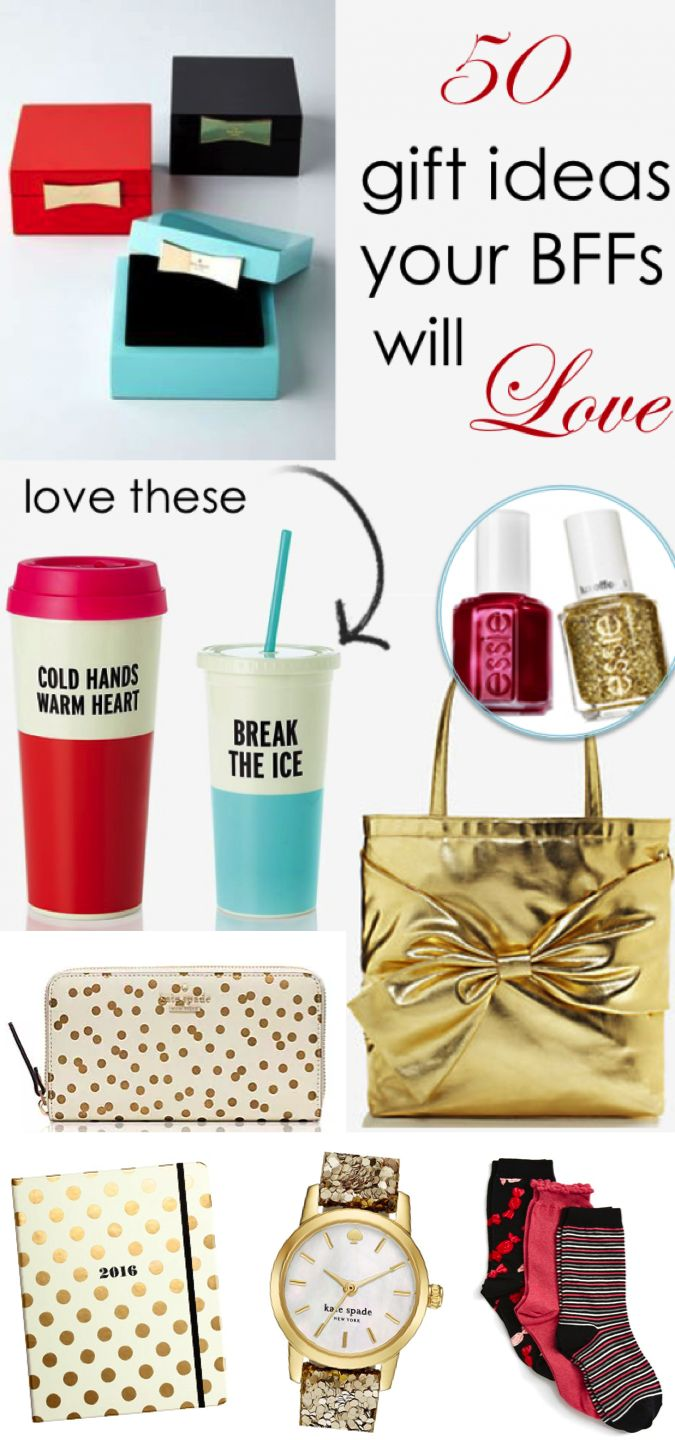 50 gift ideas your bffs will love | gifts for her | pinterest | bffs