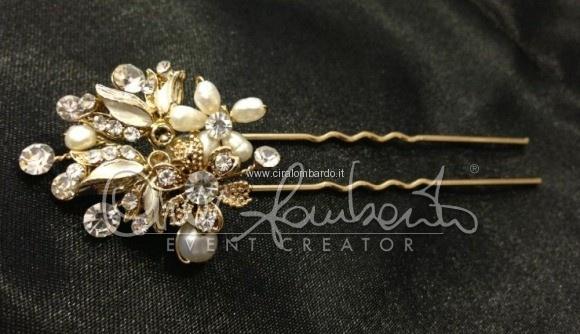 forcina fashion con cristalli e perle